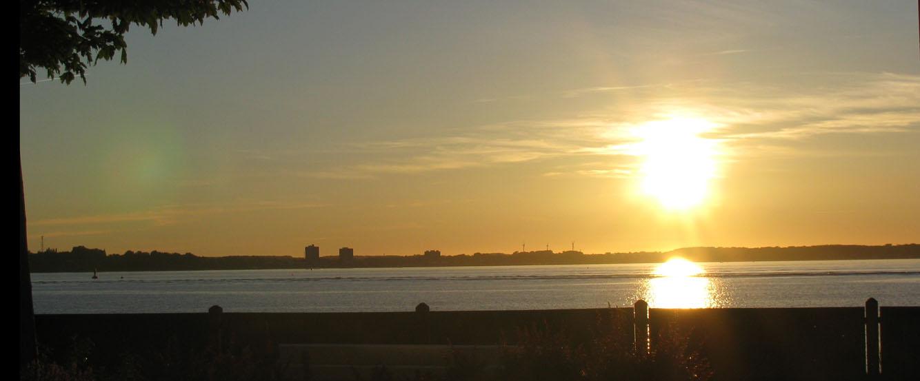 Strand und  Sonne in Laboe (Kiel) 2011