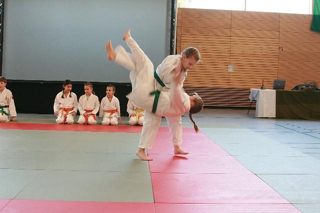 Vorführung Sportpalette 2012 Wurf2